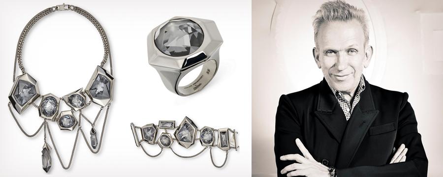Newsnews   novelty  swarovski jewelry from jean paul gaultier 01e000b16