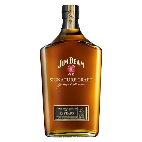 jim beam signature craft 43 1l