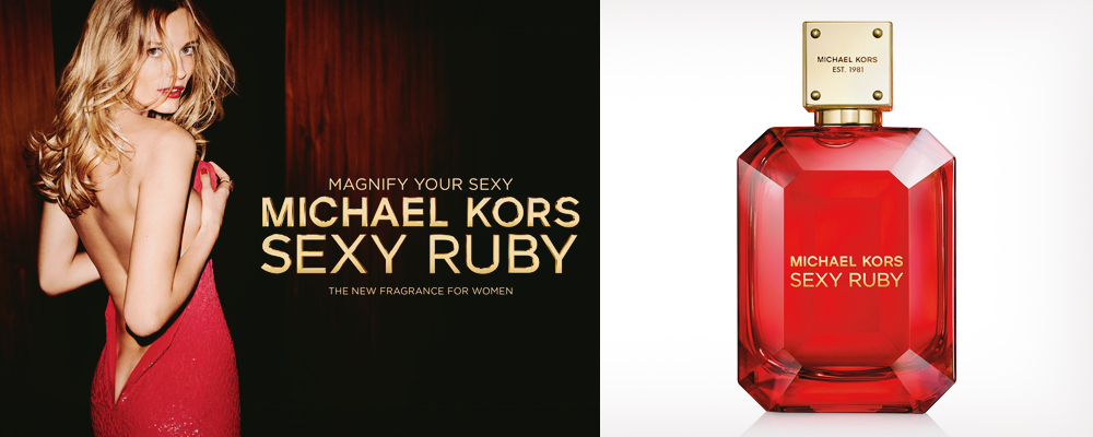 Novelty from Michael Kors: Sexy Ruby